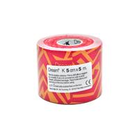 Product DREAM K Tribe - Red/ Yellow - Ελαστικός Επίδεσμος Κινησιοθεραπείας 5cm X 5m base image