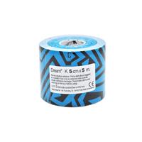 Product DREAM K Tribe - Black/ Blue - Ελαστικός Επίδεσμος Κινησιοθεραπείας 5cm X 5m base image