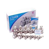 Product Βεντούζες σετ 12 τεμ Βιδωτές (Twisting cupping set) base image