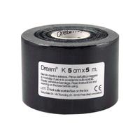 Product DREAM K Black - Ελαστικός Επίδεσμος Κινησιοθεραπείας 5cm X 5m base image