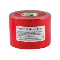 Product DREAM K Red - Ελαστικός Επίδεσμος Κινησιοθεραπείας 5cm X 5m base image