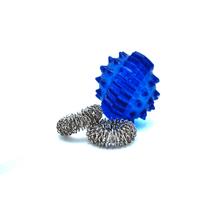 Product Μπαλάκι μασάζ 3,5cm με δύο δαχτυλίδια μασάζ (massage ball with finger ring 3,5cm) base image