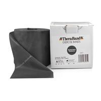 Product Thera-Band Ιμάντας Άσκησης Μαύρο -Πώληση με το μέτρο- (Exercise Band BLACK) base image