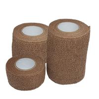 Product Αυτοσυγκρατούμενος επίδεσμος 4.5m σε τρία πλάτη- Μπεζ (Cohesive Bandage Beige) από: base image