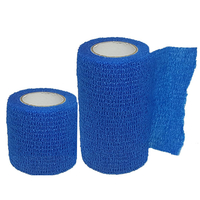 Product Αυτοσυγκρατούμενος επίδεσμος 4.5m σε δύο πλάτη- Μπλε (Cohesive Bandage Blue) από: base image