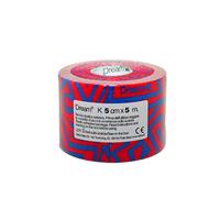 Product DREAM K Tribe - Blue/ Red - Ελαστικός Επίδεσμος Κινησιοθεραπείας 5cm X 5m base image