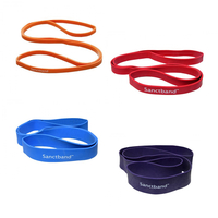 Product Sanctband Super Loop Band σε 4 αντιστάσεις (Κυκλικό Λάστιχο μήκους 1m) από: base image