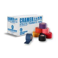 Product Cramer Team Colors Tape (Αυτοκόλλητη Ανελαστική Χρωματιστή Ταινία Περίδεσης) 3,8cm x 9,14m base image