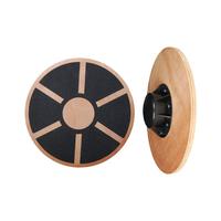 Product Δίσκος ισορροπίας πολυαξονικός ξύλινος 39cm (wooden balance board) base image