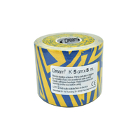 Product DREAM K Tribe - Blue/ Yellow - Ελαστικός Επίδεσμος Κινησιοθεραπείας 5cm X 5m base image